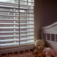 Baby Crib Near the Window